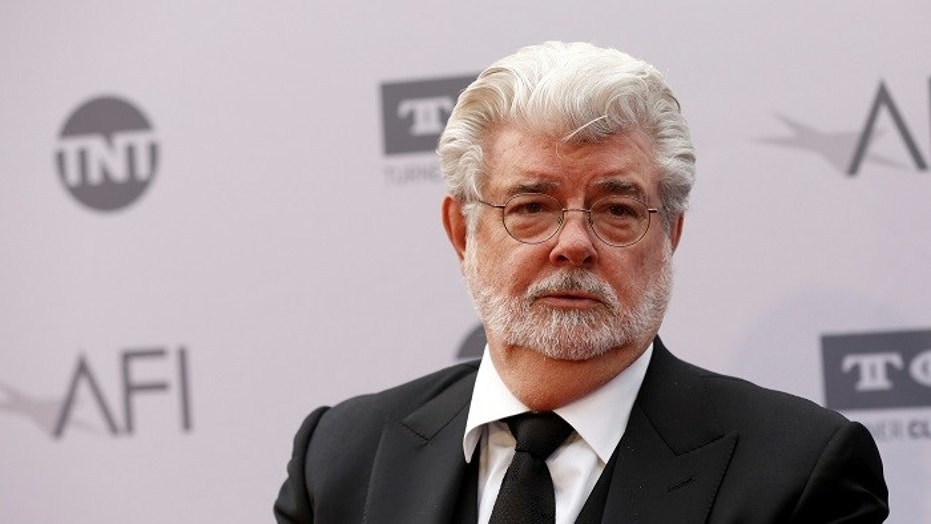 George Lucas admitted to a screening audience that he