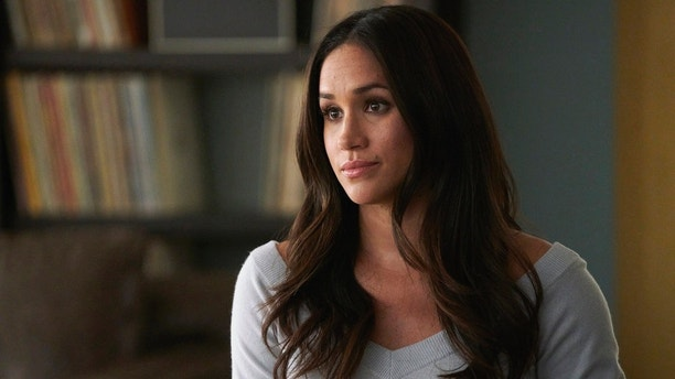"""SUITS -- """"Skin In the Game"""" Episode 701 -- Pictured: Meghan Markle as Rachel Zane -- (Photo by: Ian Watson/USA Network)"""