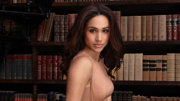 SUITS -- Season: 4 -- Pictured: Meghan Markle as Rachel Zane -- (Photo by: Nigel Parry/USA Network)