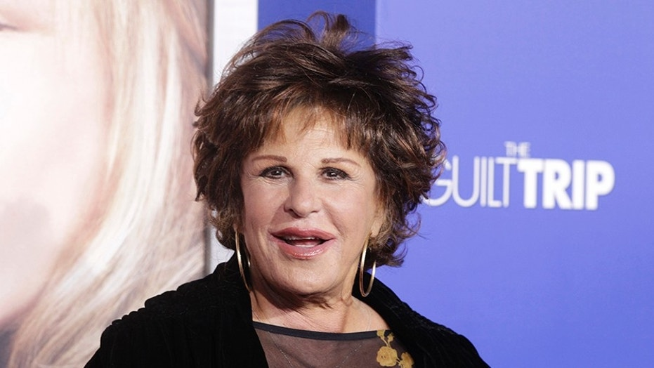 "Singer and actress Lainie Kazan arrives at the premiere of ""The Guilt Trip"" starring Barbra Streisand and Seth Rogen in Los Angeles December 11, 2012.  REUTERS/Fred Prouser  (UNITED STATES - Tags: ENTERTAINMENT) - GM1E8CC18US01"