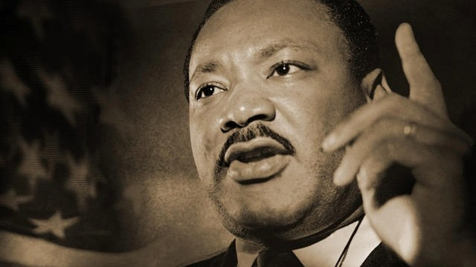 File image of Martin Luther King, Jr. Newsweek was slammed for tweeting a photo of King in his casket.