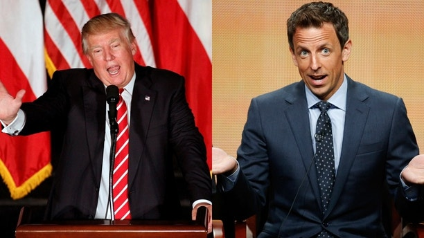 donald trump seth meyers reuters