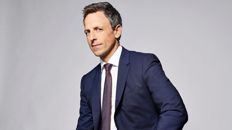"""Late Night With Seth Meyers"" star Seth Meyers teased that his hosting gig at the Golden Globes will be politically charged."