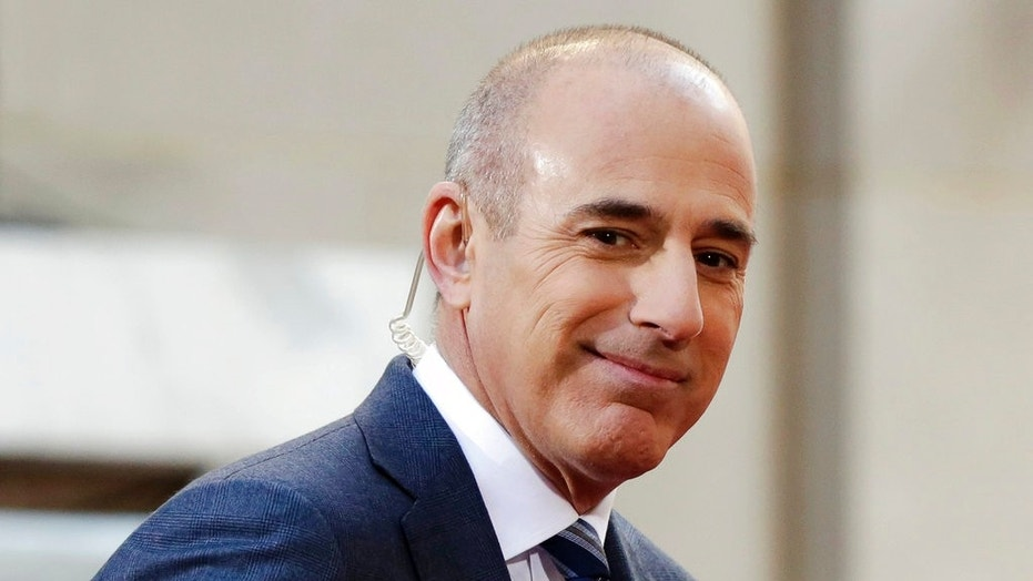 Matt Lauer had been a fixture on NBC's 'Today' show since the mid-1990s.