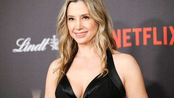 Actress Mira Sorvino arrives at The Weinstein Company & Netflix Golden Globe After Party in Beverly Hills, California January 10, 2016.