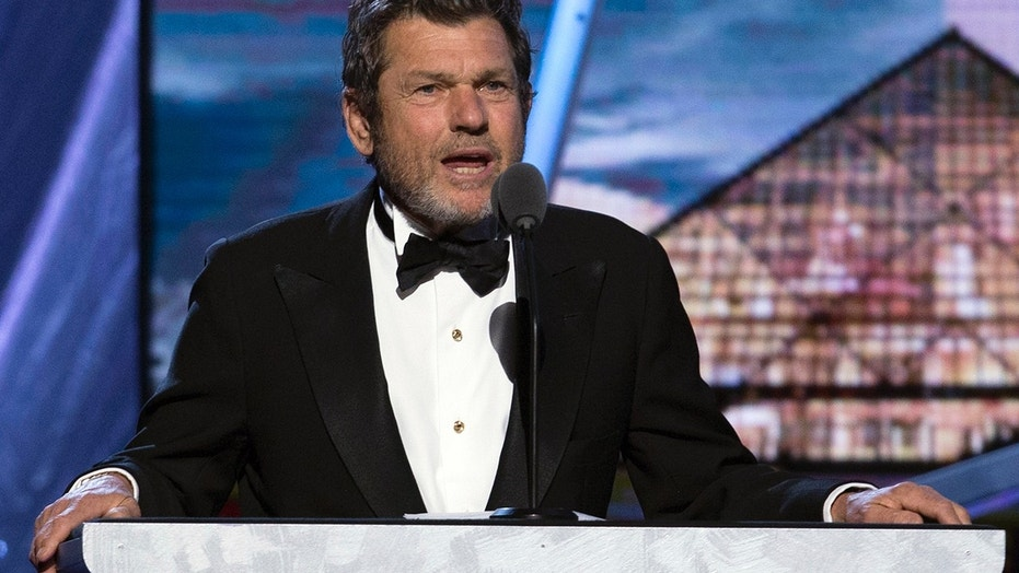 Jann Wenner, co-founder and publisher of Rolling Stone magazine, speaks during the 29th annual Rock and Roll Hall of Fame Induction Ceremony at the Barclays Center in Brooklyn, New York April 10, 2014.