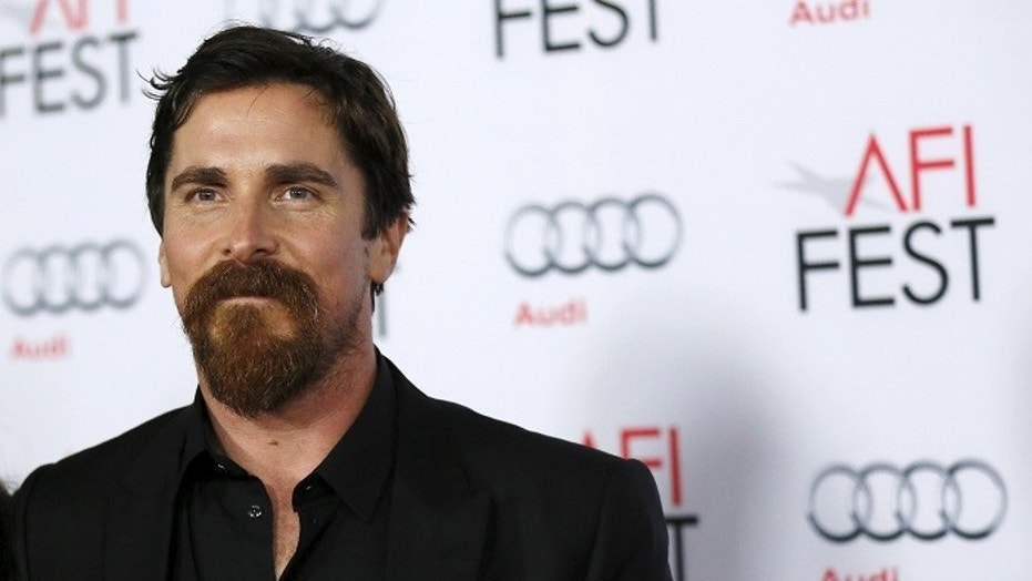 Christian Bale said he would never star in a romantic comedy.