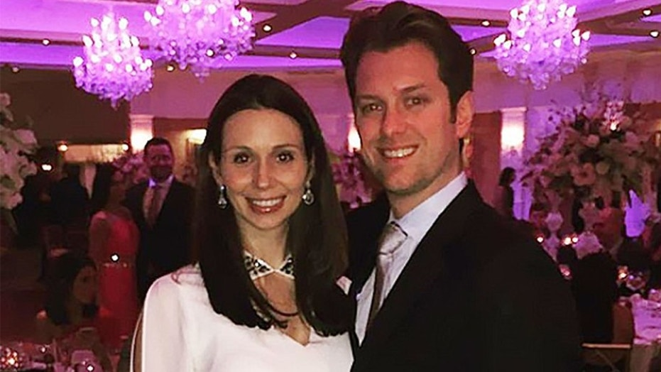 Kevin Clancy and his wife, Caitlin Nugent Clancy.