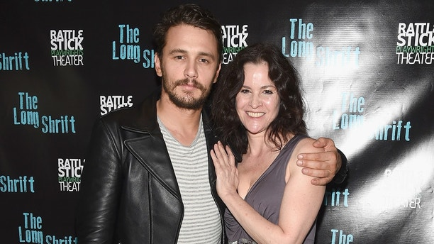 "NEW YORK, NY - JULY 13:  Director James Franco and actress Ally Sheedy attend the after party during ""The Long Shrift"" opening night at Rattlestick Playwrights Theater on July 13, 2014 in New York City.  (Photo by Gary Gershoff/WireImage)"