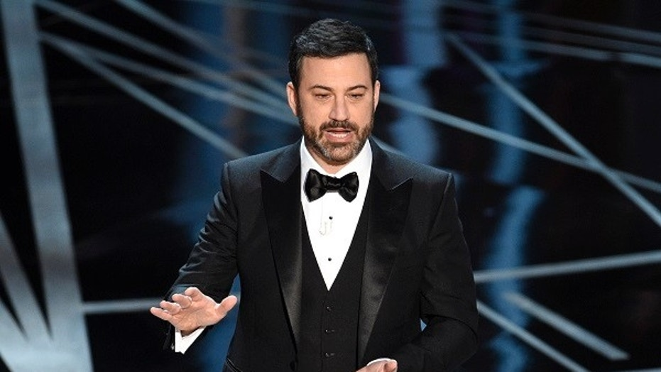 'We would have to call her President Winfrey': Jimmy Kimmel says he likes an Oprah run for president