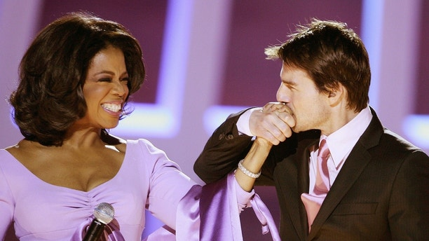 Image result for oprah favorite things tom cruise on the couch