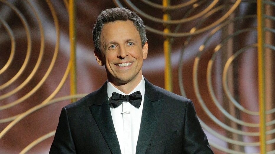 Seth Meyers Makes the Golden Globes Political in Record Time