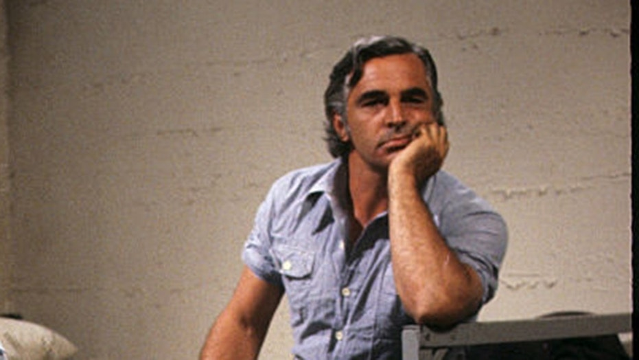 "Canadian actor Donnelly Rhodes, star of hit series ""Batttlestar Galactica"" and ""Soap,"" has died at the age of 80. Here, Rhodes is pictured on the set of TV series ""Soap."""