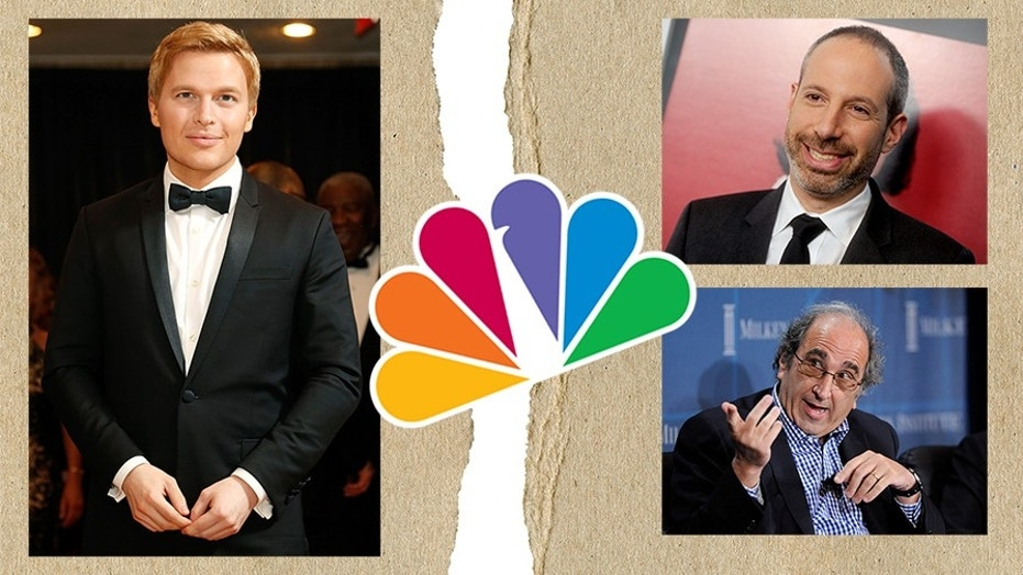 Ronan Farrow lands at HBO after NBC News executives Noah Oppenheim and Andy Lack spiked his reporting on Harvey Weinstein.