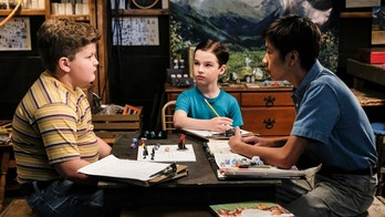 """Demons, Sunday School, and Prime Numbers"" - Pictured: Billy Sparks (Wyatt McClure), Sheldon (Iain Armitage) and Tam (Ryan Phuong). A worried Mary sends Sheldon to Sunday school after she finds him playing Dungeons and Dragons with his friends Tam and Billy, on YOUNG SHELDON, Thursday, Jan. 11 (8:31-9:01 PM, ET/PT) on the CBS Television Network. Billy Gardell guest stars as Billy Sparks\' father, Herschel. Photo: Darren Michaels/Warner Bros. Entertainment Inc. © 2017 WBEI. All rights reserved."