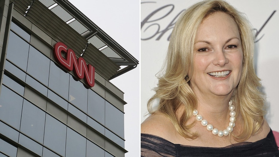 CNN used a photo of an unknown woman while promoting its upcoming series about Patty Hearst. The real Hearst appears above.