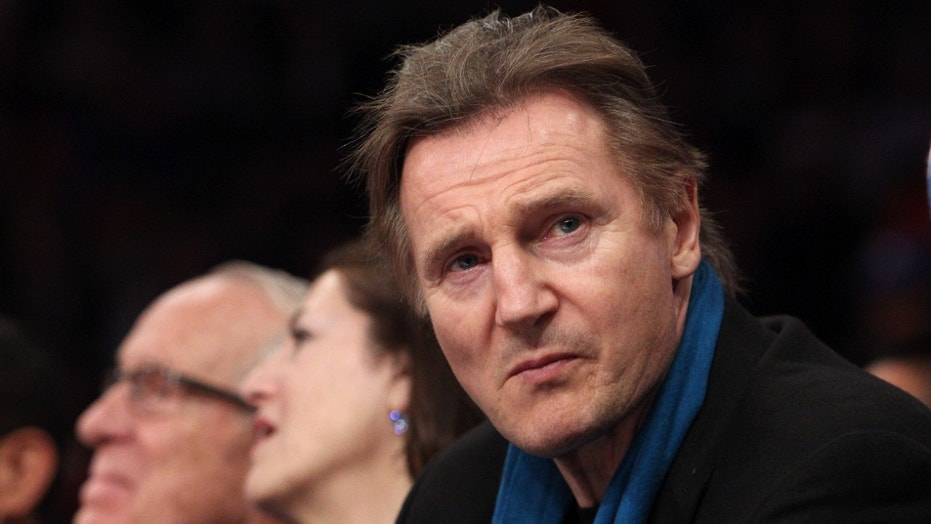 "Liam Neeson said he believes the pay gap between men and women is ""disgraceful"" but would not take a pay cut."