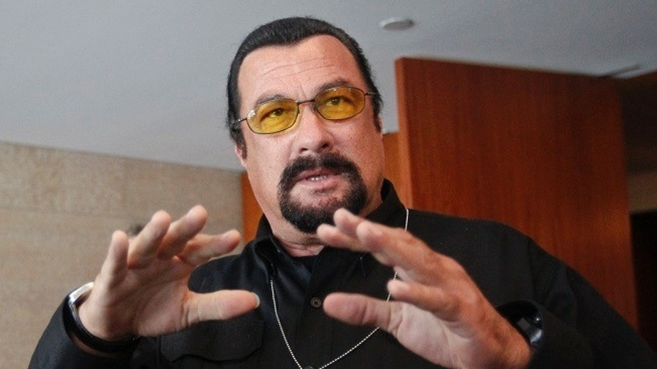 LAPD opens sexual harassment probe of Steven Seagal