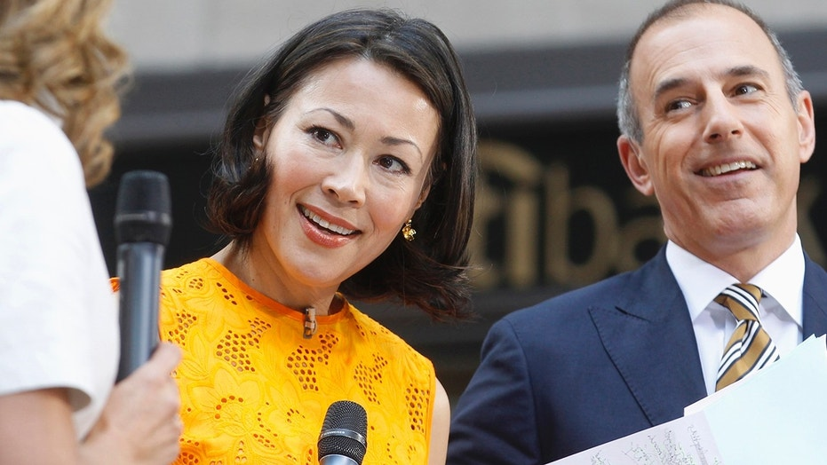 """Today"" show hosts Ann Curry and Matt Lauer appear on set during the show in New York, June 22, 2012."