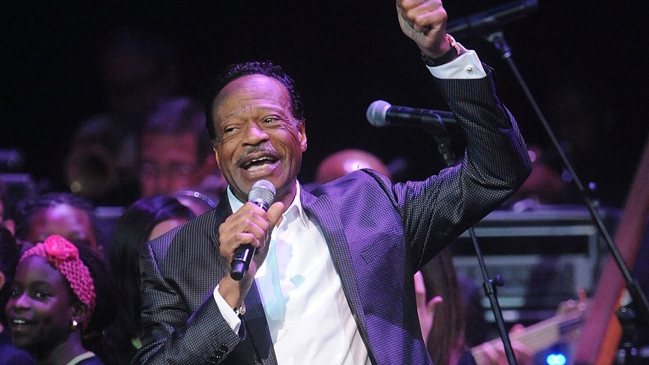 "In this June 10, 2014 file photo, Edwin Hawkins appears at the Apollo Theater Spring Gala and 80th Anniversary Celebration in New York. Hawkins, the gospel star best known for the crossover hit ""Oh Happy Day,"" died Monday, Jan. 15, 2018, at his home in Pleasanton, Calif., at age 74. He had been suffering from pancreatic cancer."