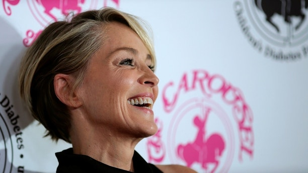 Actor and film producer Sharon Stone arrives to the Carousel of Hope Ball in Beverly Hills, California U.S. October 8, 2016. Picture taken October 8, 2016. REUTERS/David McNew - D1AEUFZAVTAB