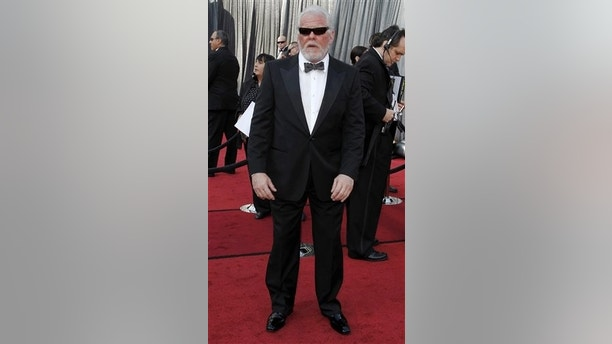 Nick Nolte arrives before the 84th Academy Awards on Sunday, Feb. 26, 2012, in the Hollywood section of Los Angeles. (AP Photo/Matt Sayles)