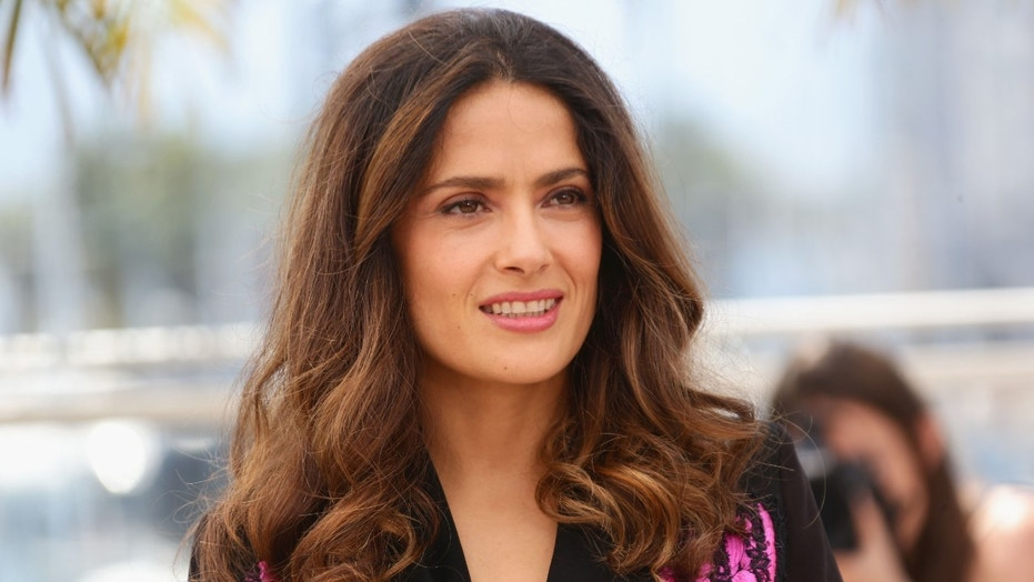 "Salma Hayek shared her pain, saying ""May she run free with my pack of dogs that are already waiting for her in dog heaven."""