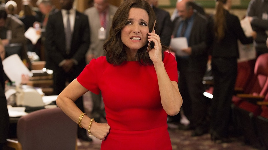 Julia Louis-Dreyfus Accepts Record-Breaking SAG Award from Her Couch
