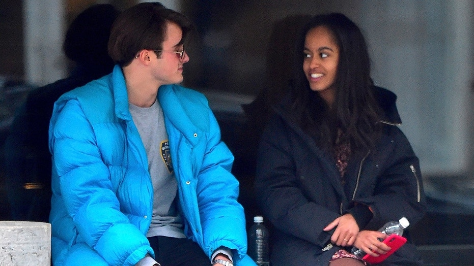 Malia Obama and boyfriend spotted out and about in NYC