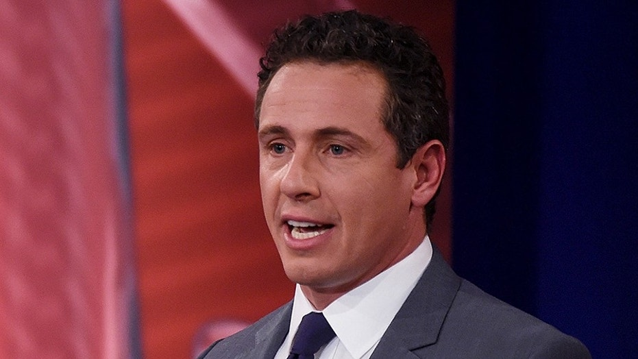 "Chris Cuomo co-hosts CNN's struggling morning show ""New Day."""