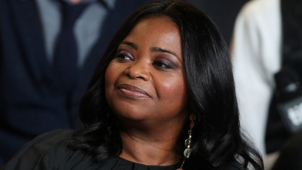 "Actor Octavia Spencer attends a news conference to promote the film ""The Shape of Water"" at the Toronto International Film Festival (TIFF) in Toronto Canada, September 11, 2017.    REUTERS/Fred Thornhill - RC181BFB63E0"