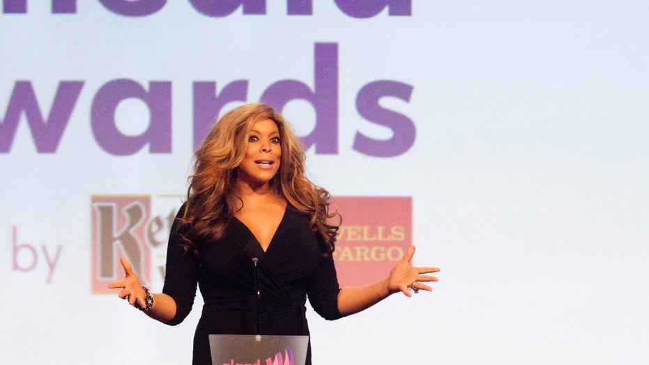 Media personality Wendy Williams speaks at the 23rd annual Gay and Lesbian Alliance Against Defamation (GLAAD) Media Awards in New York March 24, 2012.   REUTERS/Andrew Kelly  (UNITED STATES - Tags: ENTERTAINMENT PROFILE) - RTR2ZU90