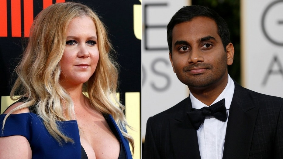 Amy schumer on sexual misconduct claim against aziz ansari its amy schumer addressed the allegations of sexual assault made against aziz ansari stopboris