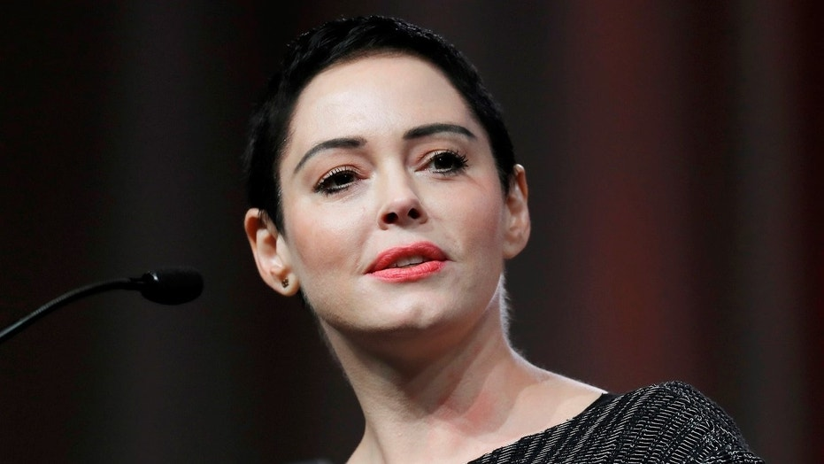 Enraged Rose McGowan filmed yelling expletive-filled rant at trans heckler
