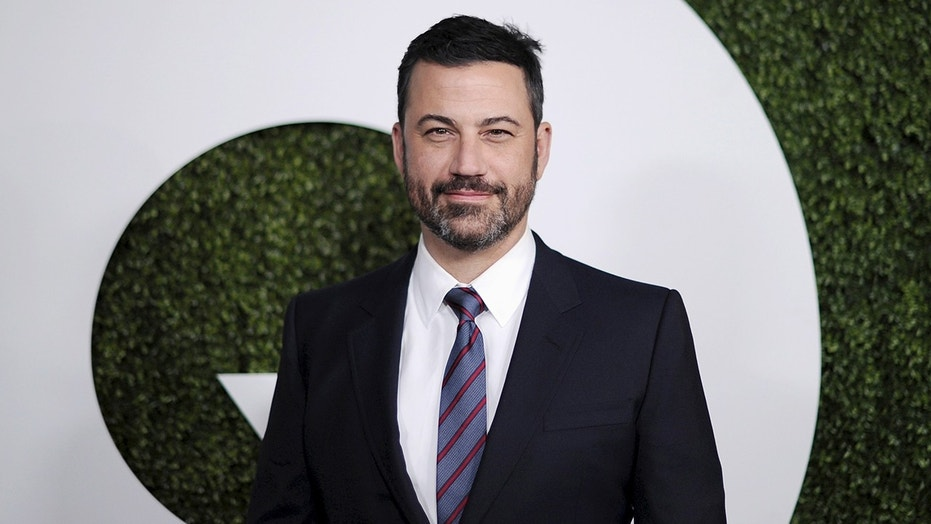 Talk show host Jimmy Kimmel crashed his car into another in West Hollywood, Calif. on Thursday. No one was injured in the crash.