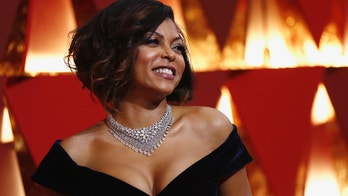 89th Academy Awards - Oscars Red Carpet Arrivals - Hollywood, California, U.S. - 26/02/17 - Actor Taraji P. Henson poses on the red carpet. REUTERS/Mario Anzuoni - HP1ED2R01SKTK