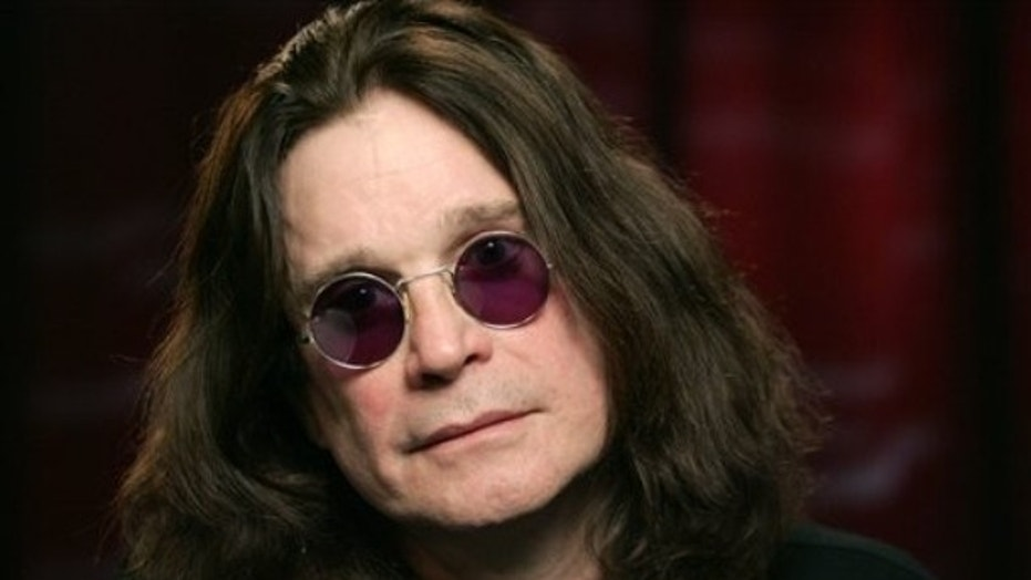 Recording artist Ozzy Osbourne poses for a portrait Tuesday, Jan. 26, 2010 in New York.  (AP Photo/Jeff Christensen)