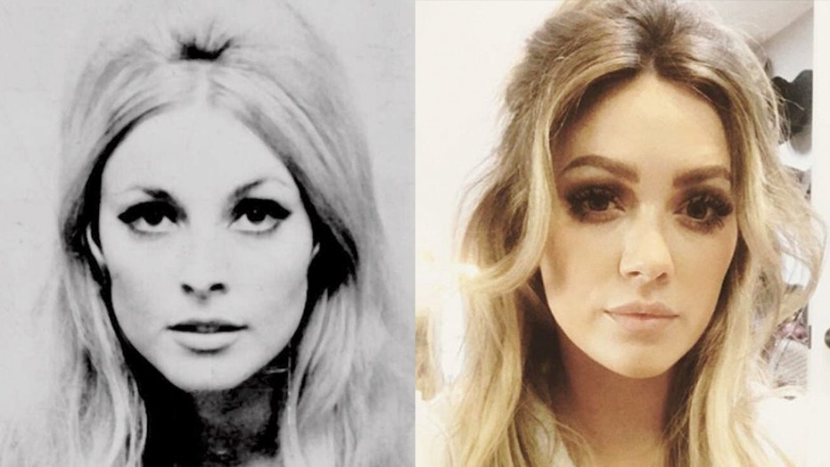 Sharon Tate, left, is being portrayed by Hilary Duff in a new film, but Tate's sister is not happy with the portrayal.
