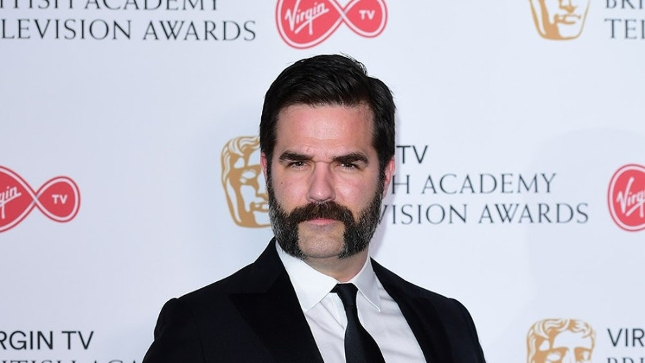 Rob Delaney in the press room at the Virgin TV British Academy Television Awards 2017 held at Festival Hall at Southbank Centre, London.