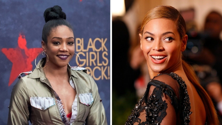 Tiffany Haddish said Beyonce confronted an actress that was getting too close to her husband Jay-Z.