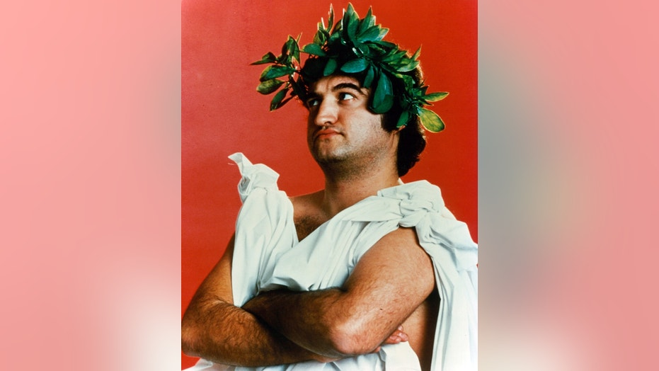 "John Belushi publicity portrait for the film ""Animal House"" in 1978."