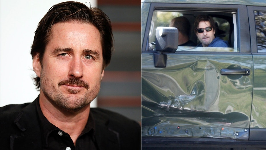 Luke Wilson Was Spotted Arriving Home In His Wrecked Suv Following A Deadly Car Crash On