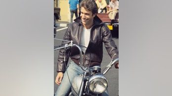 "UNITED STATES - JUNE 14:  HAPPY DAYS - ""Not With My Sister You Don't"" - Season Two - 6/14/74 Fonzie (Henry Winkler) sits on his motorcycle.  (Photo by ABC Photo Archives/ABC via Getty Images)"