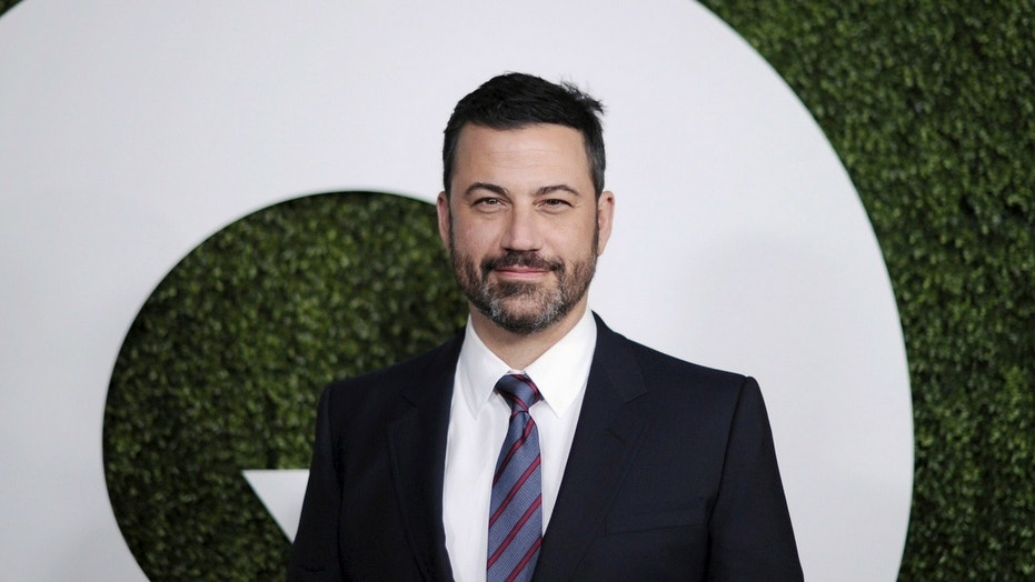 Jimmy Kimmel called on President Trump and Republican lawmakers to do something about gun control following Wednesday's school shooting in Florida that killed at least 17 people.