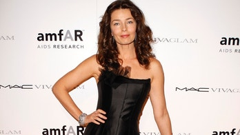 Model Paulina Porizkova arrives for the amFAR (The Foundation for AIDS Research) annual gala to kick off Fashion Week in New York February 10, 2010.