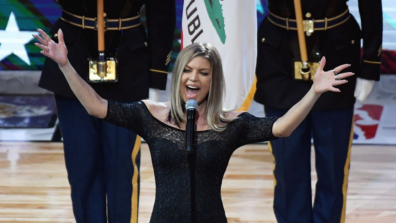 Fergie admits national anthem performance was kind of a mess