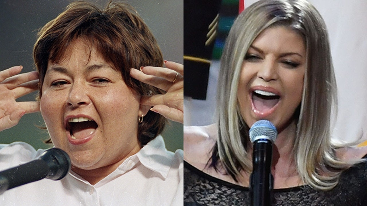 Roseanne Barr says Fergie's national anthem performance was worse than her 1990 rendition