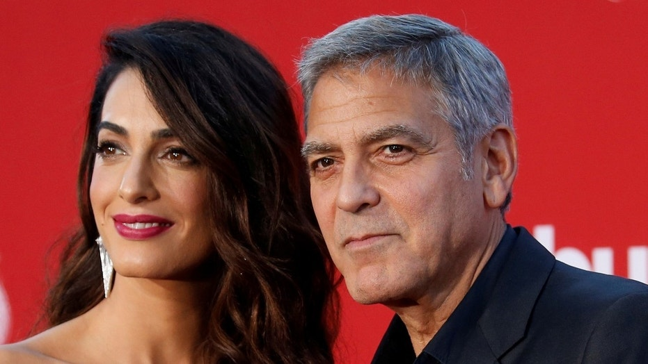 Fox News: George and Amal Clooney donate $500G to Florida high school survivors' gun control march
