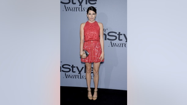 Mexican actress Karla Souza poses during the InStyle Awards at the Getty Center in Los Angeles, California on October 26, 2015. REUTERS/Kevork Djansezian - GF20000034609