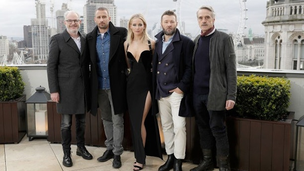 Red Sparrow cast ET Getty